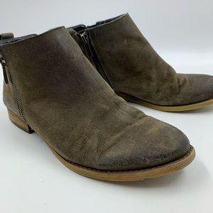 Franco Sarto Womens 8 Keegan Ankle Boots Booties